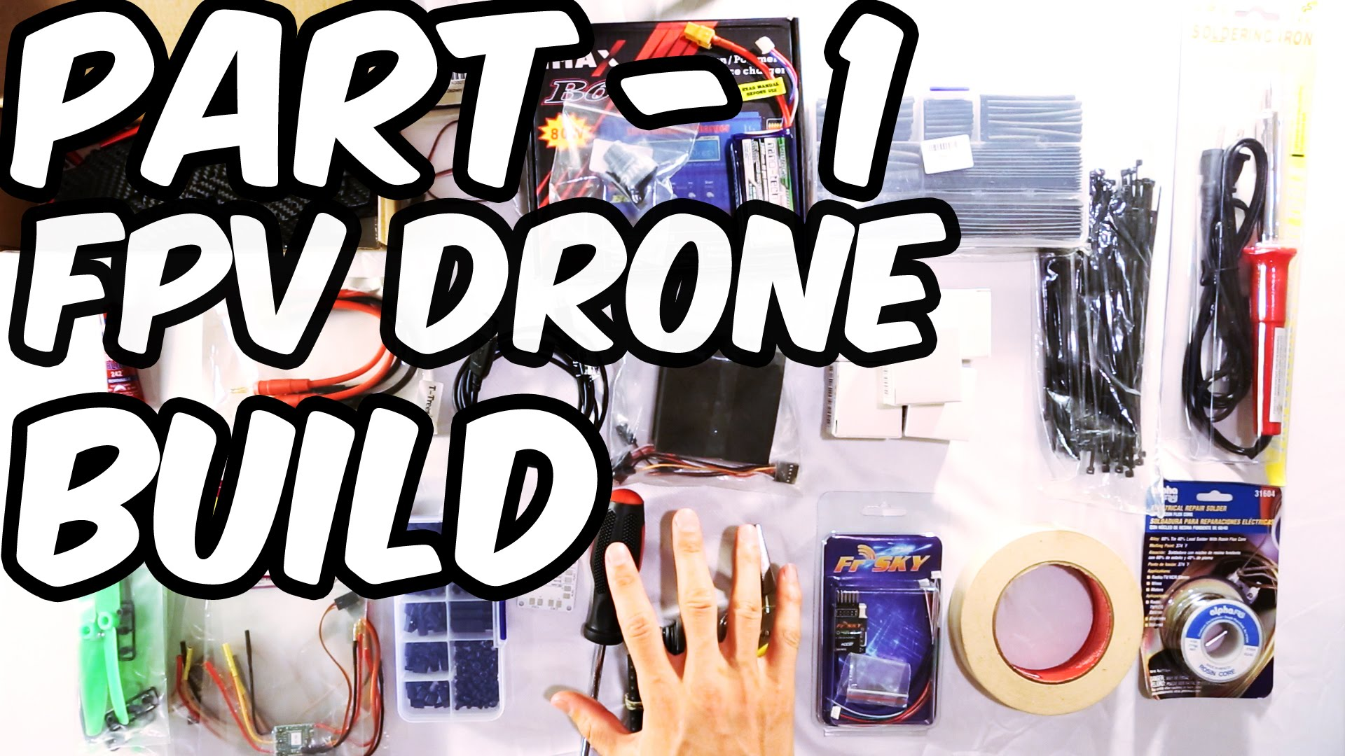 [PARTS LIST] ZMR250 RACING DRONE - BUILD VIDEO WITH FPV - PART 1