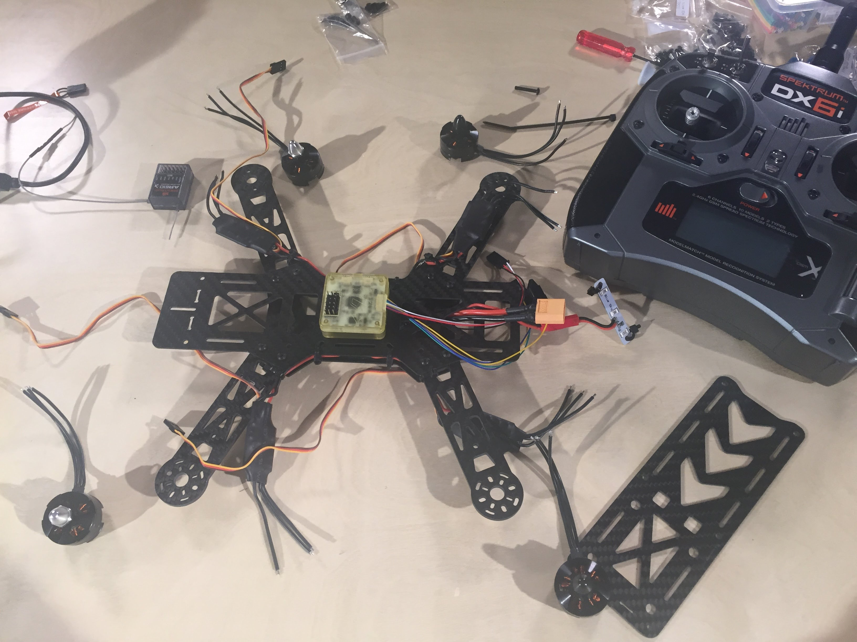 How To Build A FPV Racing Quadcopter Part 2 – The Build