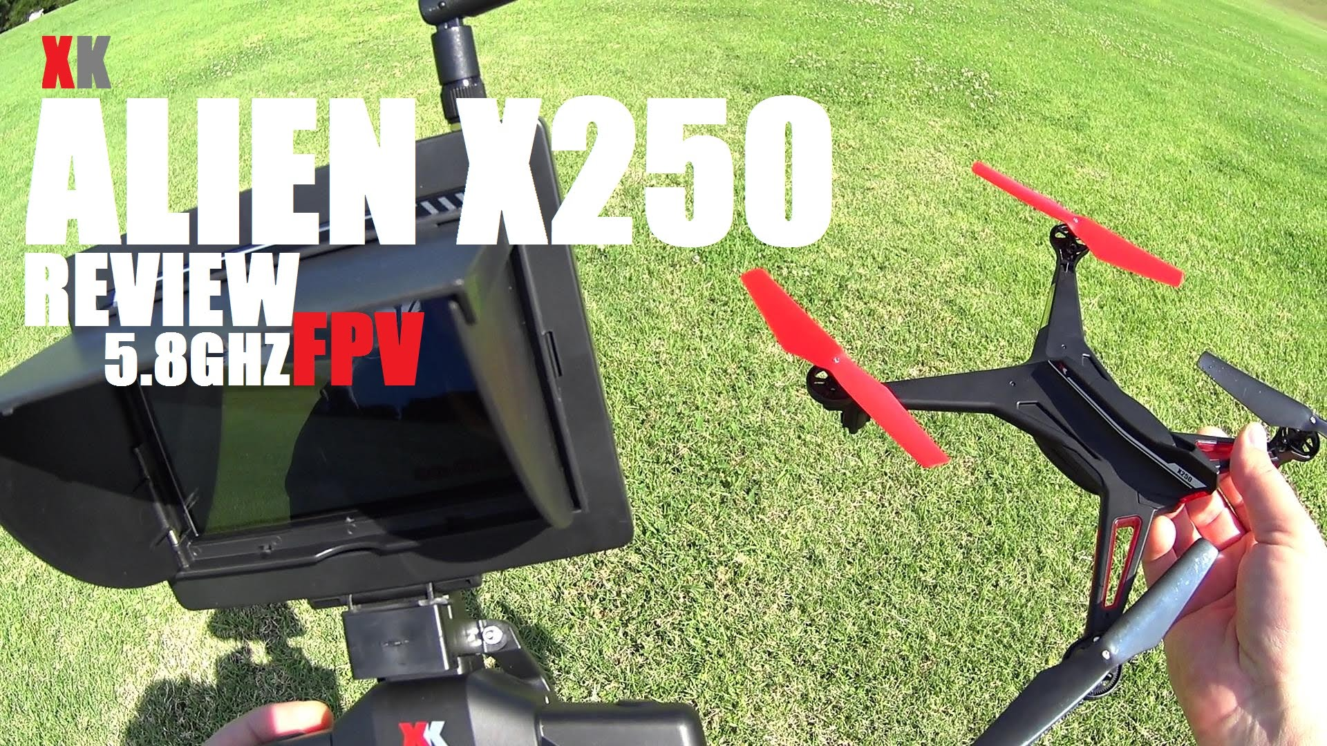 XK ALIEN X250 FPV 5 8ghz Quadcopter Review – [Flight Test