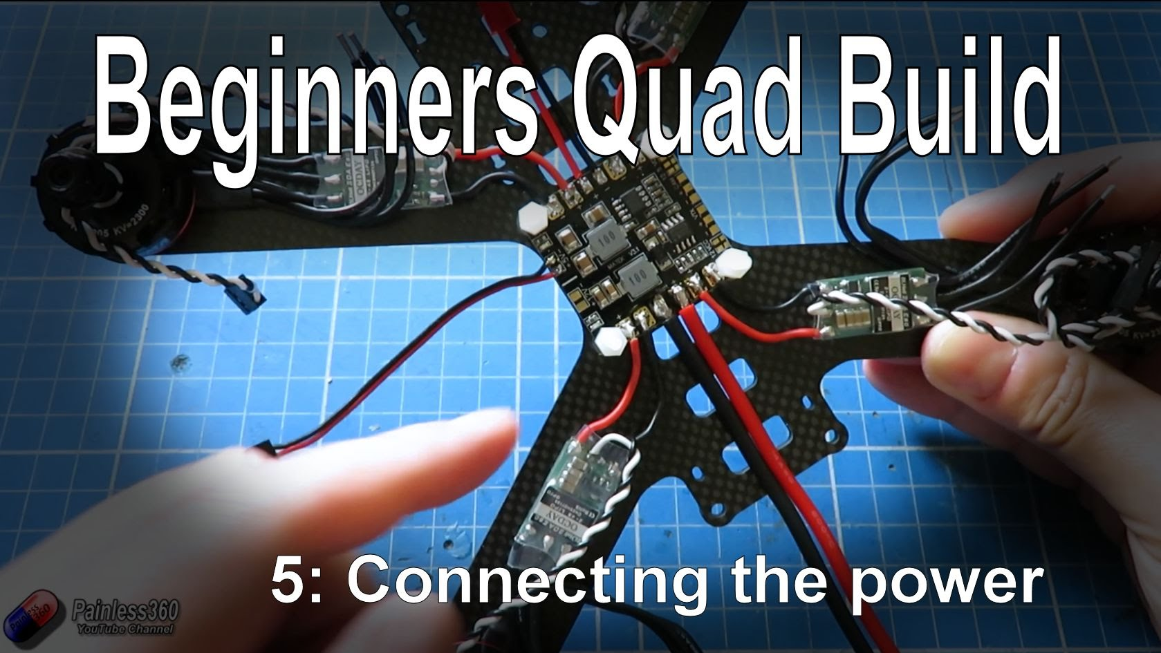 59 Quadcopter Building For Beginners Connecting The Main Power Of Guide To Your Rc Plane Electronic Parts Enjoyed This Video
