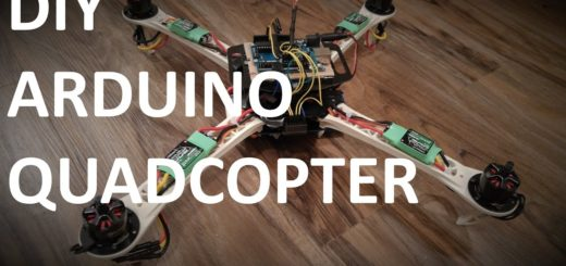 Arduino drone flying fast with quadcopter source