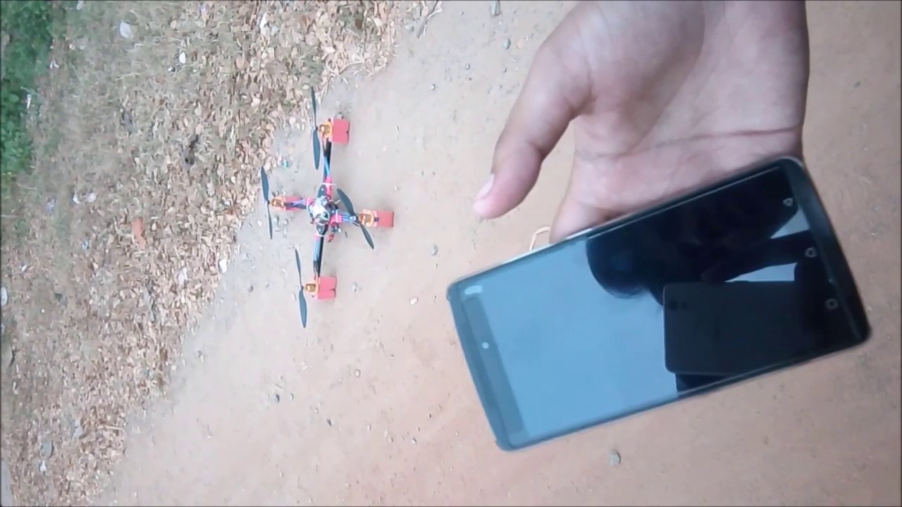 Flying fast with quadcopter source
