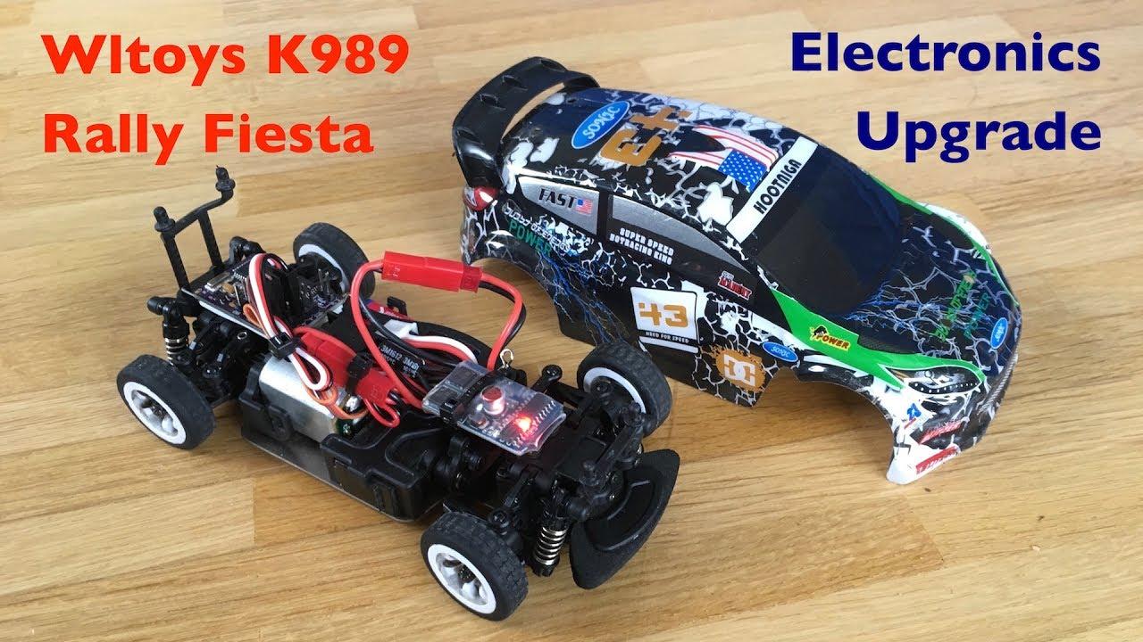 """Wltoys k rally car arduino """"micro rc ghz upgrade"""
