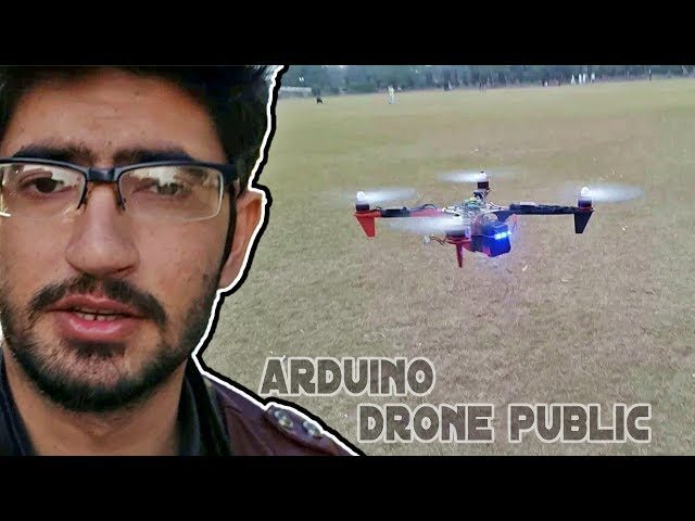 Arduino drone altitude hold plan and public flight