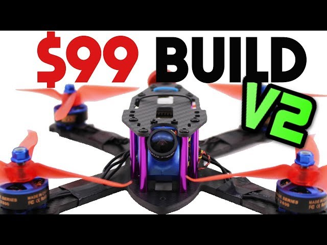 Build a PRO FPV Racing Drone for ONLY $99 Full guide – 2018 UAVFUTURES $99  Build