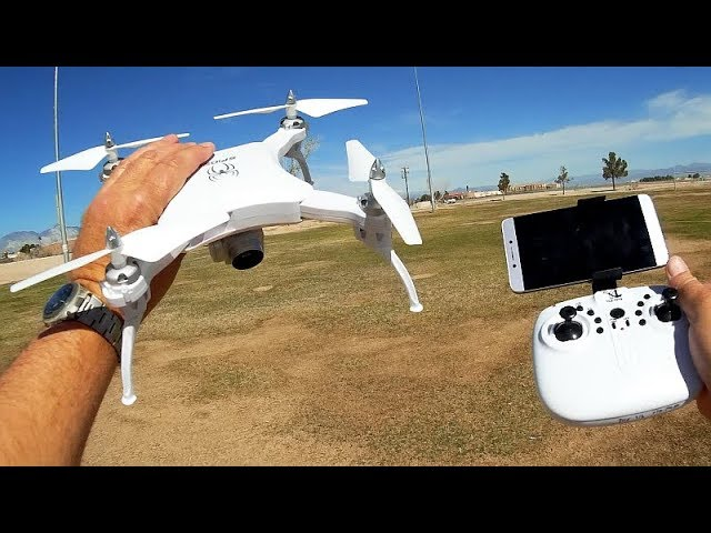 Yile S16 Spider Folding FPV Camera Drone Flight Test Review