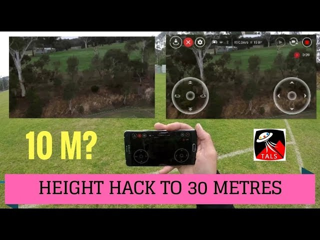 DJI TELLO – MAX HEIGHT HACKED TO 30m – FULL REVIEW of FEATURES