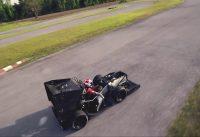 DJI F450 Manual Mode – Top Speed 89 kmh – Looping – no music